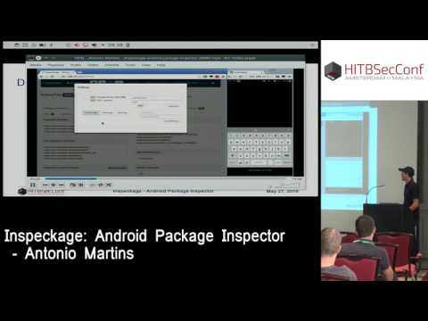 #HITB2016AMS CommSec Track D2 - Inspeckage: Android Package Inspector - Antonio Martins
