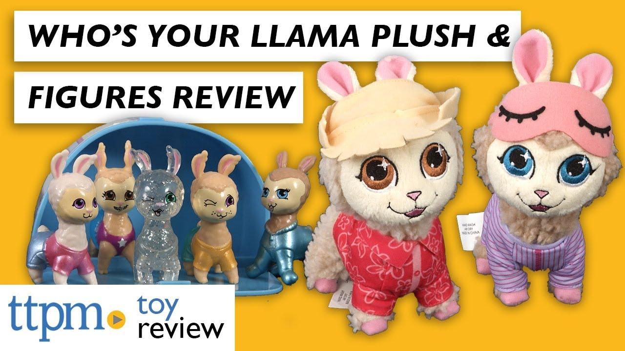 Jakks Pacific who/'s your Llama Mini-Collectionneur morceaux différentes couleurs