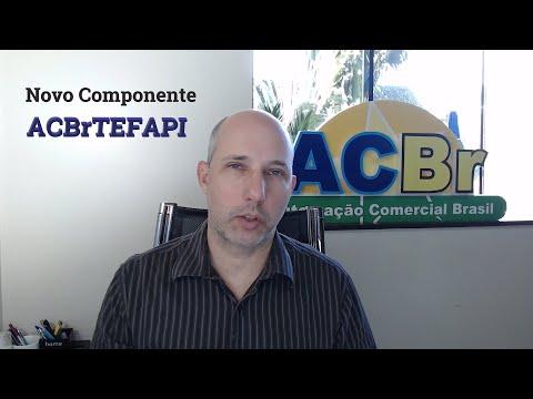 Novo componente - ACBrTEFAPI
