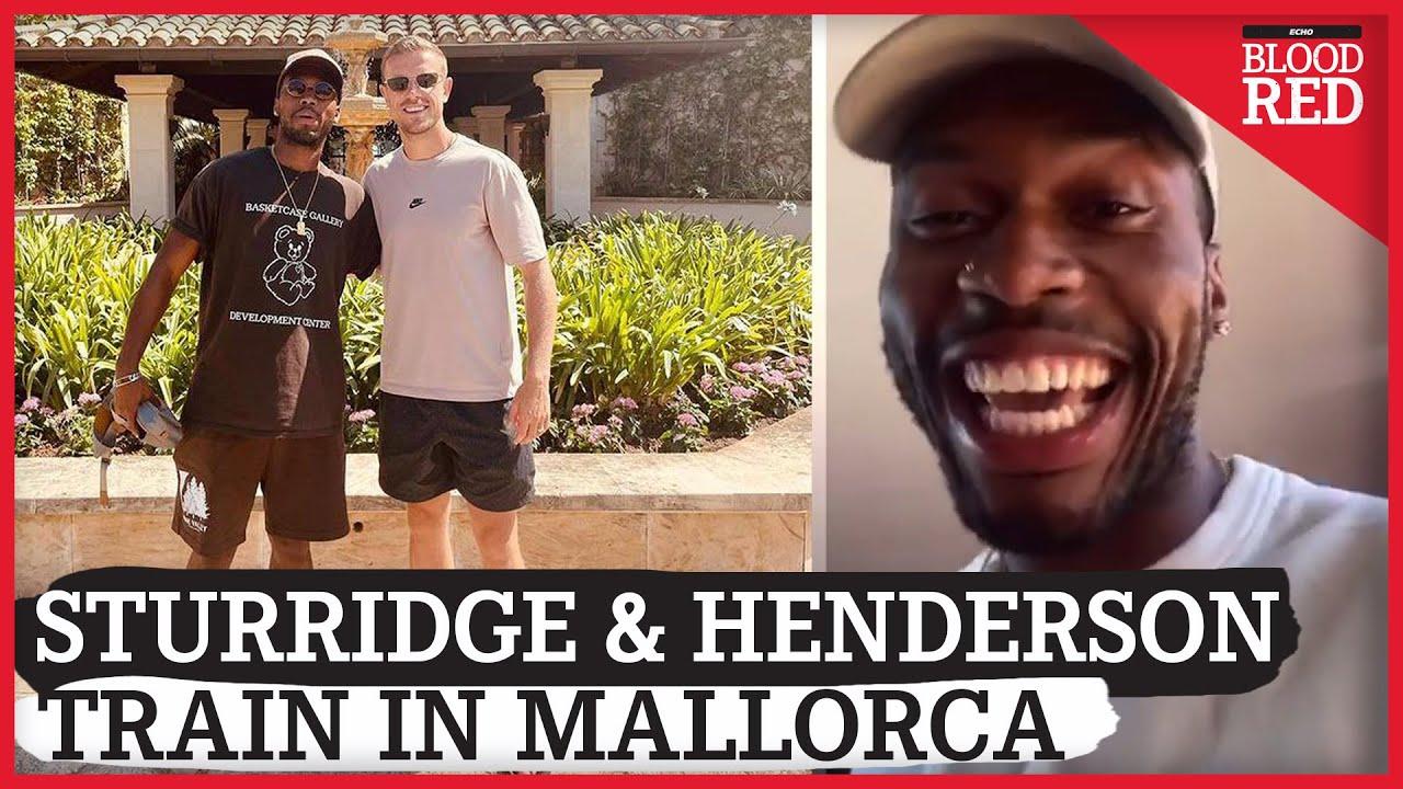 """THINGS NEVER CHANGE""   Daniel Sturridge & Jordan Henderson Workout in RCD Mallorca Gym"