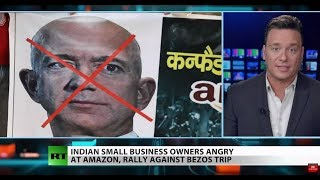 Amazon's India expansion sparks protests