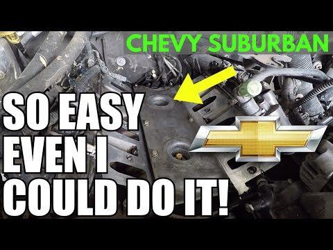 SIMPLE How To Replace Engine Knock Sensor GM V8