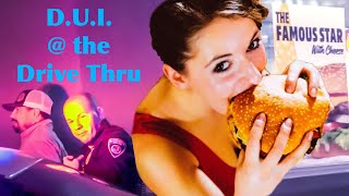 """D.U.I. At the Drive Thru... """"Can I Have A Famous Star and a D.U.I. Please?"""" Bakersfield Police"""