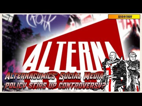 Alternacomics' Social Media Policy stirs up controversy?