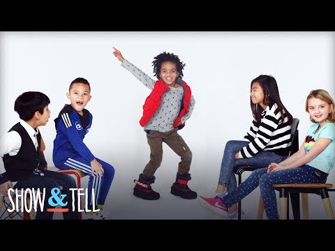 Kids Share Their Favorite Dance Moves | Show And Tell | HiHo Kids