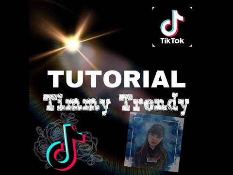 TUTORIAL TIMMY TREND YANG LAGI VIRAL DI TIKTOK !!! (Video-Foto)