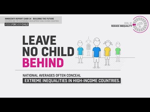 UNICEF - Innocenti Report Card 14 - Goal 10 Reduce Inequality