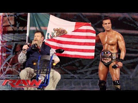 Zeb Colter Und Alberto Del Rio Sprechen In UK über MexAmerica: Raw – 9. November 2015
