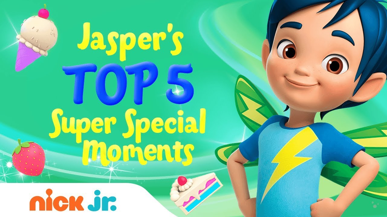 Jasper S Top 5 Super Special Moments Butterbean S Café Nick Jr Youtube
