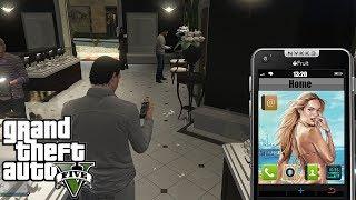 GTA 5 MOD VITA REALE #2 - COMPRIAMO UN CELLULARE - GAMEPLAY ITA