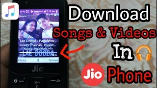 How To Download Songs & Videos In Jio Phone | Jio Phone Tips And Tricks