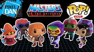 Funko Masters of the Universe Pop Vinyl Figure Collection Unboxing and Review
