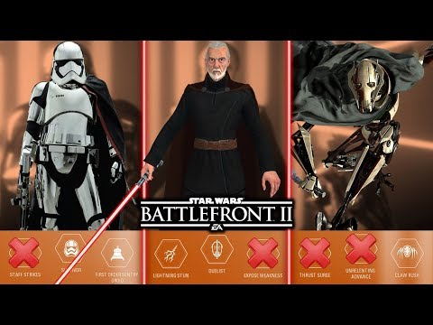 TOP 10 WORST VILLAIN ABILITIES 2019! Star Wars Battlefront 2 thumbnail