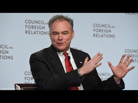 A Conversation With Tim Kaine