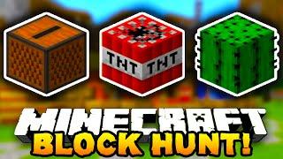 Minecraft BLOCK HUNT! #5 (Funny Minigame) - w/ Preston, Lachlan & MrWoofless