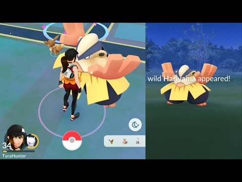 Download Youtube: OMG SO BIG! HARIYAMA! One of the best gen 3 pokemon [Pokemon Go]