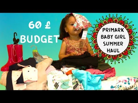 66977de1c PRIMARK BABY GIRL AUTUMN 2018 HUGE CLOTHES HAUL WITH TRY ON   BUDGET ...
