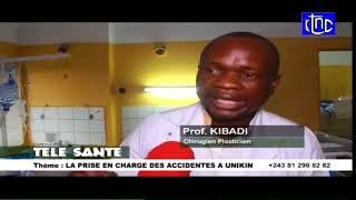 RDC: Prise en charge des grands brûlés de l'accident de Mbuba