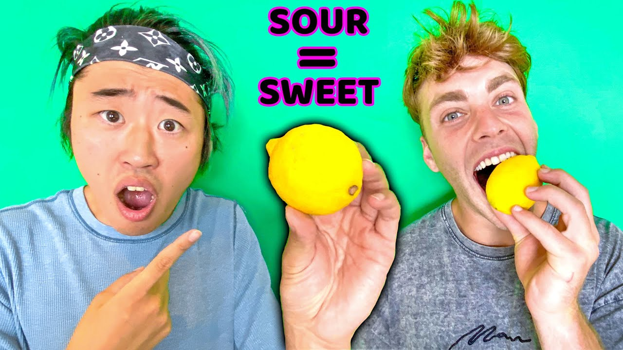 MAGIC Berries Turn SOUR Food SWEET!! (Taste Test Challenge)