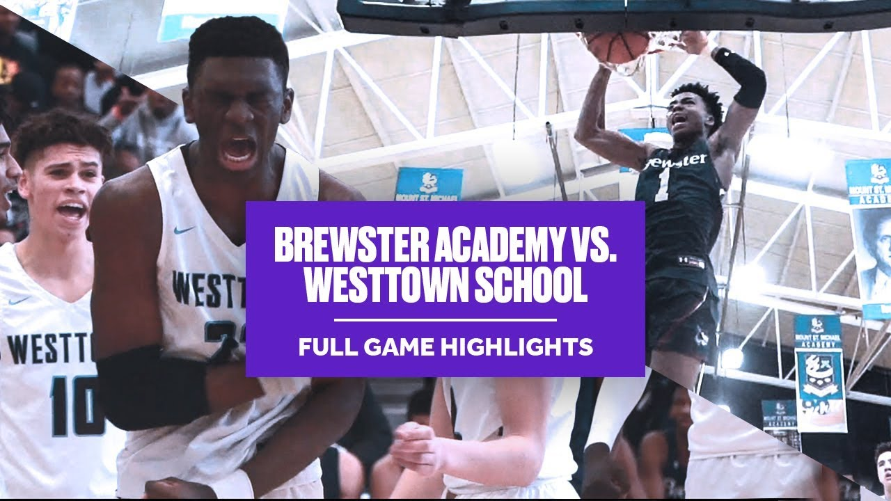 Jalen Lecque & Brewster Academy vs. Jalen Gaffney & Westtown School - Full Game Highlights