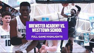 Jalen Lecque & Brewster Academy vs. Jalen Gaffney & Westtown School - Full Game Highlights