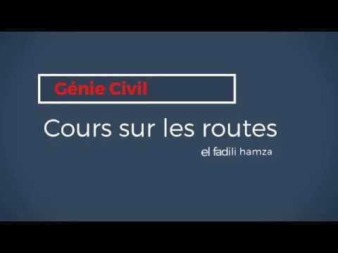 Cours de Génie civil ( les routes)