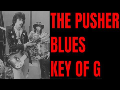 '69 Psychedelic Blues Backing Track [Key of G - 82 BPM]