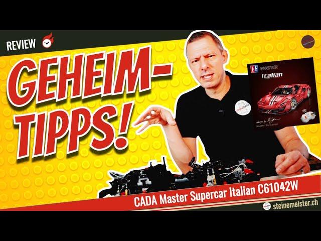 CaDa Ferrari 488 Pista Italien Supercar (61042w) . Tipps und Tricks damit der Supercar fährt.