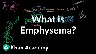 What is emphysema? | Respiratory system diseases | NCLEX-RN | Khan Academy