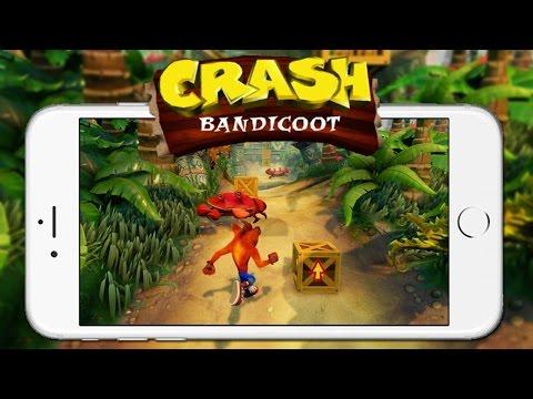 Crash Bandicoot - IPhone Gameplay