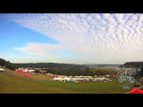 '7 days in 7 minutes' @ All Good Time Lapse Featuring Pretty Lights 'Country Roads'