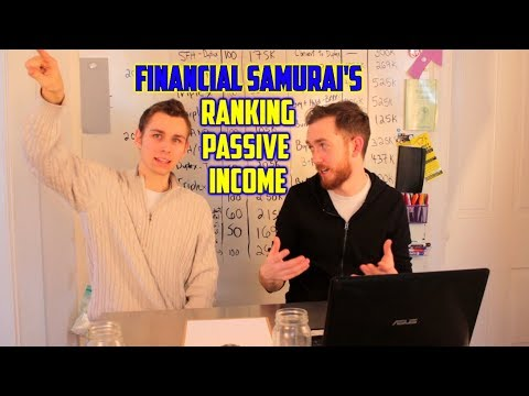 Financial Samurai - Ranking Sources of Passive Income for Financial Independence Retire Early