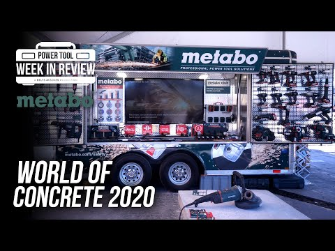 [NEW TOOLS] Everything NEW from Metabo for 2020! World of Concrete booth