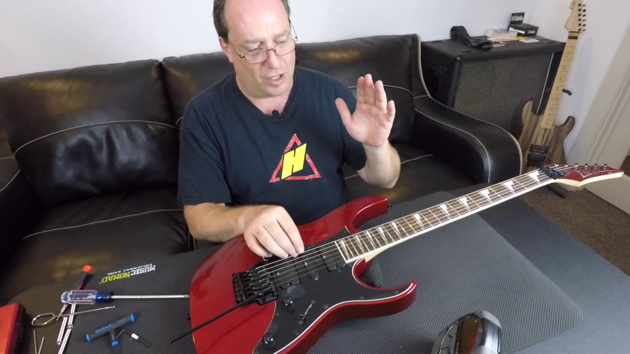 FU-Tone com Ibanez Edge 3 Block Install and Demo
