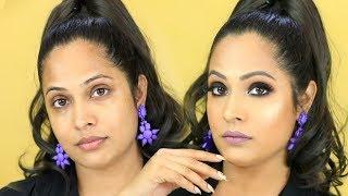 WEIRD Makeup HACKS SMOKEY EYES Step By Step Tutorial for Beginners   Shruti Arjun Anand