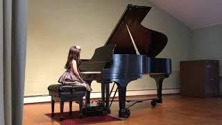 Chloe Kim (5) studio recital 5/14/2018