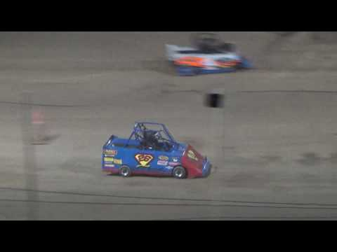 Mini Wedge Feature #2 at Crystal Motor Speedway, Michigan on 09-16-2017!!