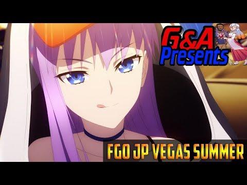 Fgo Jp Summer 2019 A Las Vegas Summer Let S Gamble Youtube