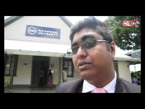 Fiji National University Students Association National President, Ketan Lal