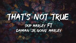 Skip Marley - that's Not True (Lyrics) ft Damian 'Jr. Gong' Marley Lyrics