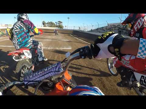 Ventura Raceway Flat Track Steve Souisa XR100 Heat Race