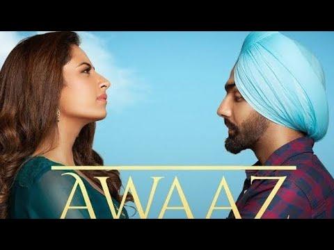 #punjabi song # awaj Awaj Kamal Khan | Qismat | Ammi Virk | Shagun Mheta | Harmonium Notation