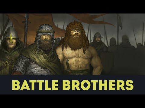 Крутая Тактическая RPG - Battle Brothers на Русском