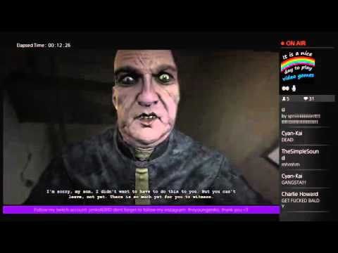 OUTLAST GAMEPLAY EPISODE 2- Turning on the generator...