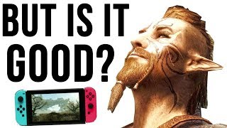 Skyrim Nintendo Switch Gameplay Review - SHOULD YOU BUY IT?