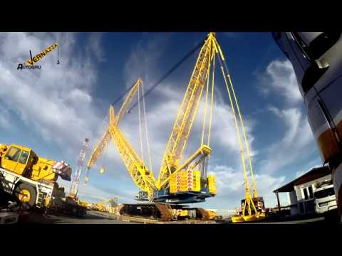 TEREX DEMAG CC 6800 -  GENESI  IN TIME LAPSE