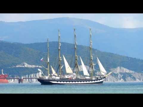 Черноморская регата больших парусников. Фото.