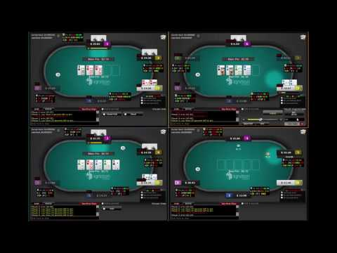 25NL Ignition Poker 6 max Cash game Texas Holdem Part 1 of 6