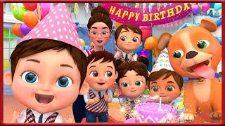Happy Birthday Song | Kids Party Songs \u0026 Nursery Rhymes | Best Birthday Wishes \u0026 Songs Collections