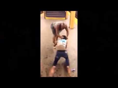 Nude girl fight